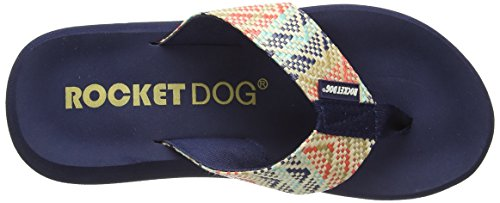 Rocket Dog Spotlight Tatami - Sandalias de sintético para mujer Beige - Beige (Tatami)
