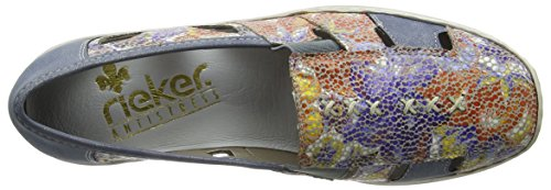 Donna 92 92 Mocassini Rieker Multicolore 41385 qCp8Y
