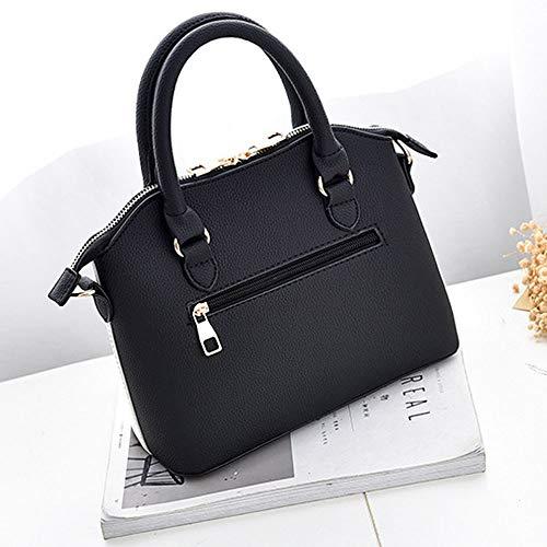 A bianca Moda Diagonale borsa Stampa color Tracolla Wenquan Donna 5x8w7q