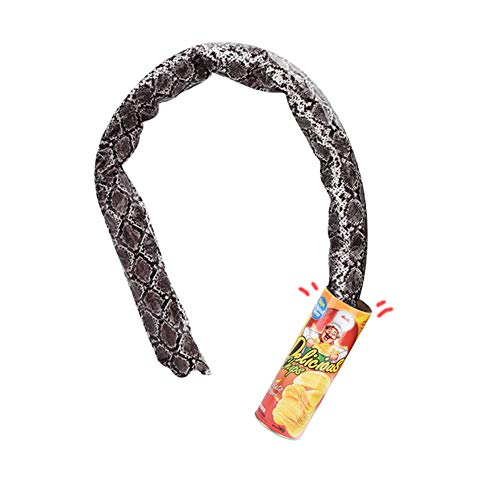 VANVENE Potato Chip Snake in A Can Gag Gift Prank Large Size for April Fools' Day and Halloween