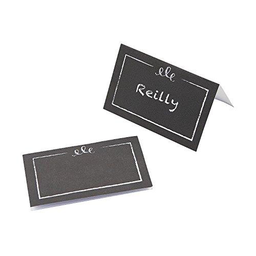 Style Chalkboard (Chalkboard-Style Placecards)