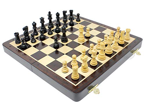 House of Chess - Wooden Folding Chess Set / Board - 14