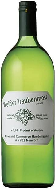 ワイサー・トラウベンモスト 絞りたて白ぶどうジュース 12本セット【オーストリア産・ノンアルコール・ジュース・1L】