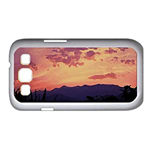 Pink Skies Watercolor style Cover Samsung Galaxy S3 I9300 Case (Sun & Sky Watercolor style Cover Samsung Galaxy S3 I9300 Case)