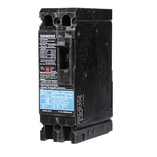 Siemens ED42B100 Circuit Breaker, Type ED4, 100 Amp, 2 Pole ()