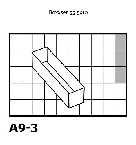 Raaco Uso Set 136426 transparente orden sistemas tipo 55/a: 6/x A9/ /3