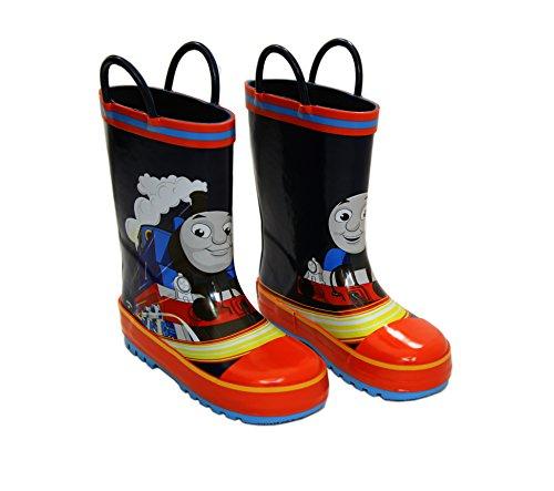 Thomas The Tank Engine 61229 Boy's Blue Rubber Rain Boots (5)