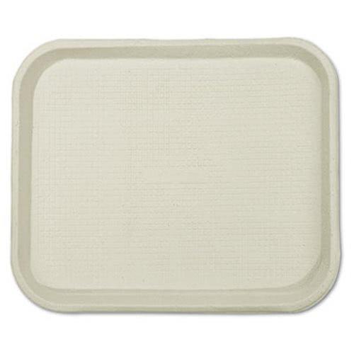Savaday Molded Fiber Food Trays, 9 X 12 X 1, White, Rectangular