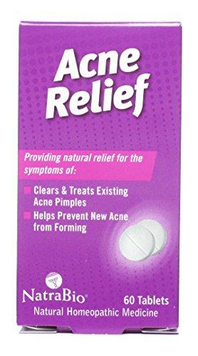 Natra-Bio Acne Relief 60 tab ( Multi-Pack)