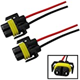 amazon com dorman 84783 h8 h11 electrical wiring harness automotive ijdmtoy 2 h11 h8 880 881 female adapter wiring harness sockets wire for headlights