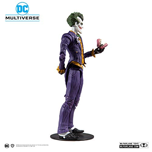 "McFarlane Toys DC Multiverse Batman: Arkham Asylum The Joker 7"" Action Figure"