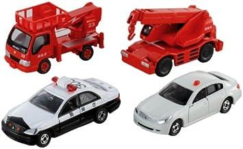 japan import Tomica emergency vehicle set 5