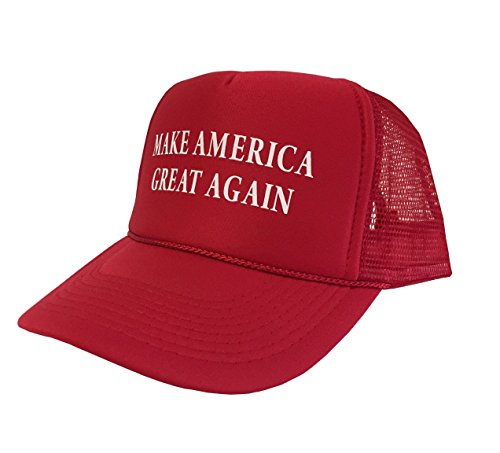 P B Campaign Adjustable Unisex Hat Cap Make America Great Again   Red