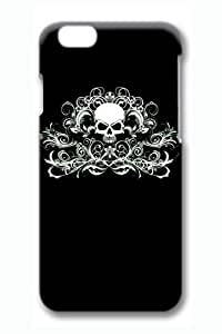 Cool Skull 18 Slim Hard Cover for iPhone 6 Plus Case ( 5.5 inch ) PC 3D Cases