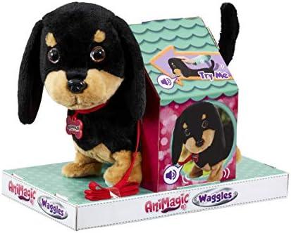 Animagic - Waggles, der Dackel, der wackelt - Elektronisches Haustier, ab 4 Jahren