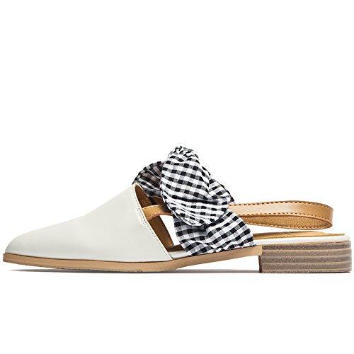 romanas Señoras señoras señoras plana para sandalias Verano nuevo Beige SOHOEOS Mujer cerrada moda puntera Sandalias PpYwqtfnxO