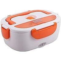 Electric lunch box for fresh hot food, 40 Watt - Orange