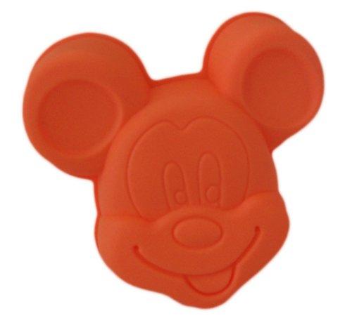 Mickey Mouse Mold Chocolate Candy Jello 3D Cartoon Figre Cake Tools Soap Mold Sugarcraft Cake Shape Decoration - SUP-COM-SM-019-orange