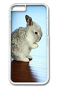 iphone 6 4.7inch Case iphone 6 4.7inch Cases Flat Nosed Bunny Animal Polycarbonate Hard Case Back Cover for iPhone 6 transparent