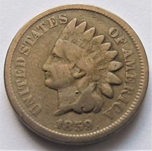 - 1859 Indian Head Copper Nickel Cent Various Grades