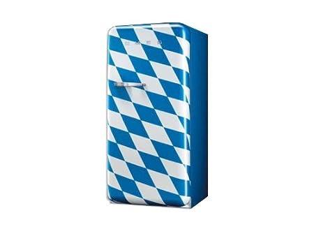 Smeg FAB28LCS1 Libera installazione 222L 26L A++ Multicolore frigorifero con congelatore [Classe di efficienza energetica A++]