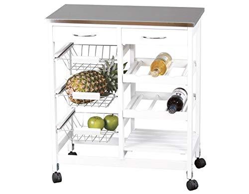 Kit Closet 7040028011 - Carro de Cocina Completo, INOX Closet norte