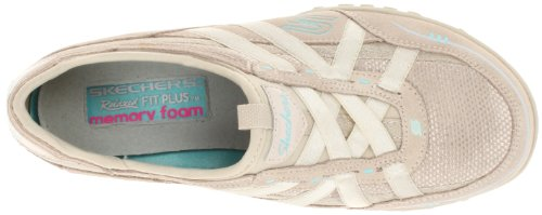 Skechers USA Breathe-Easy Damen Sneaker Beige (Nat)