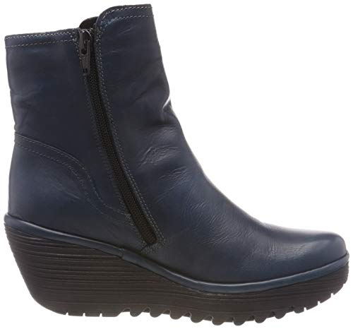 Fly Ankle Women's London 003 Boots Yeti907fly Blue Blue 8qqPwtxr