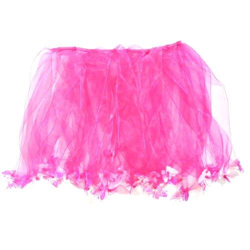 Wrapables Princess Fairy Tutu Dress-Up Skirt, Rose