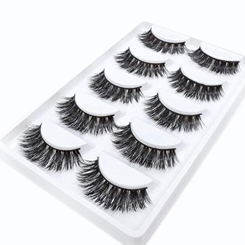 77092860069 3D Mink False Eye Lashes Beautyorigin Fake Eyelashes 100% Siberian Mink Fur  Makeup Wispy Long