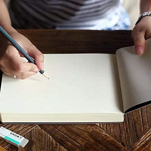 MKDLB Notizbuch 1 Stück Creative 288 Sheets Impression Handbemaltes Notizbuch Modedruck Graffiti Sketchbook Great Business Gift Notepad
