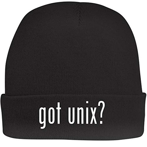 Shirt Me Up got Unix? - A Nice Beanie Cap, Black, OSFA