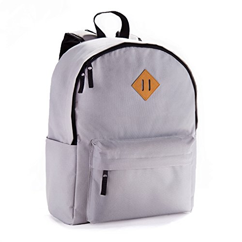 JETPAL Everyday School Laptop Backpack fits up to 15.6 - Gra