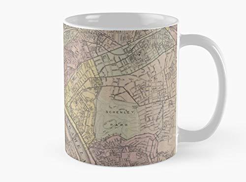Carte vintage de Pittsburgh PA (1919) Mug, Standard Mug Standard Mug Mug coffee Mug Te