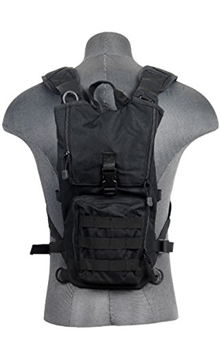 Lancer Tactical Light Weight Hydration Backpack (Black)