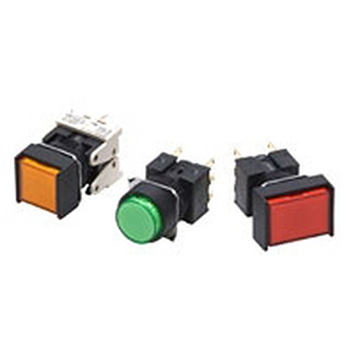 Omron A16-2 Swicth, Solder Terminal, Double Pole Double Throw Contacts by Omron