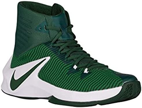 new product a70d7 f0c73 Amazon.com Nike Mens Zoom Clear Out Basketball Shoes (GreenWhite, 16)  Sports  Outdoors
