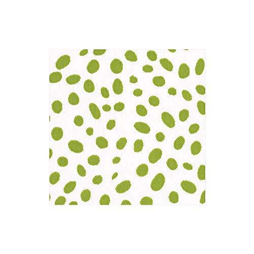 (Caspari, Napkin Cocktail Spots Green, 20 Count)