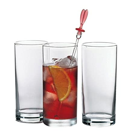 Pasabahce Istanbul Long Drink Juice Glass,290 ml, Set of 6