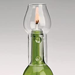Oenophilia Afterglow Flame Protector Gift ,Set of 2