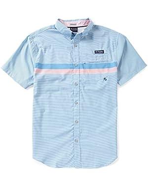 Super Harborside Woven Short Sleeve Shirt - Men's (9298)