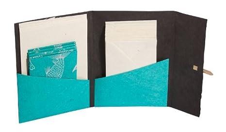 Papelería Monedero Set con papel Lokta - 100% hecho a mano ...