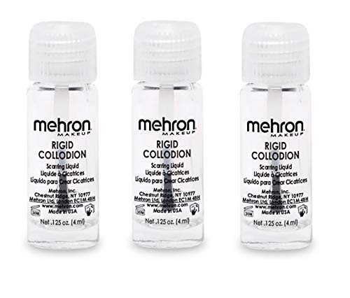 Mehron Rigid Collodion Scarring Liquid - Clear -