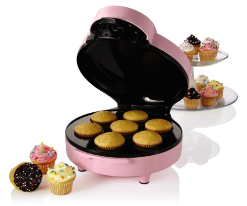 Sunbeam FPSBCMM901 Mini-Cupcake Maker, Pink