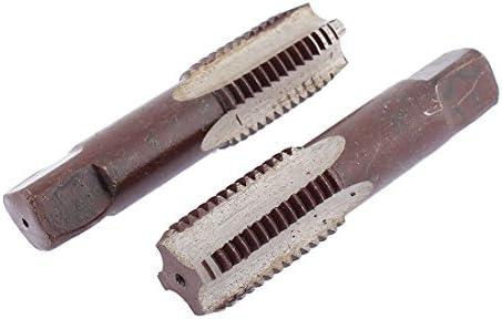 Aexit M24 x 2 Metric Brown Gerade Gewinde 4 Flöten Konusgewindebohrer Gewinde 2 Stck (ae0a08fbf51d281ed6f0edc749a6f019)