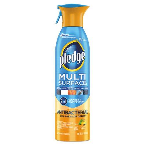 Pledge CB723541CT Multi-Surface II Everyday Cleaner 9.7oz Aerosol