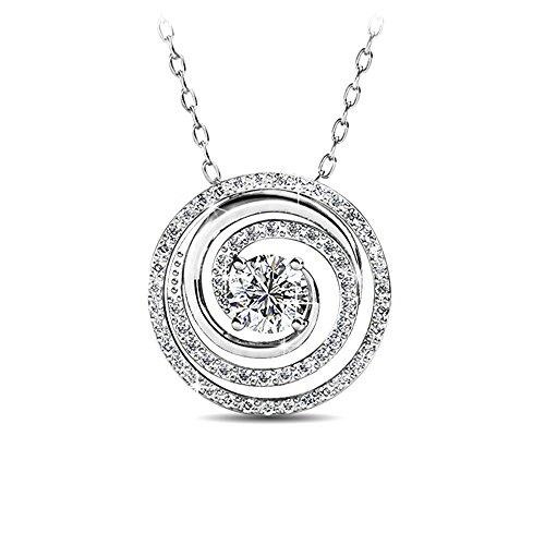 Alaxy Pendant Necklace Made with SWAROVSKI Crystal -