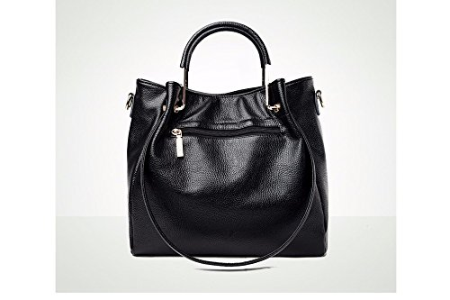Casual New Gwqgz Handbag Lady Black 5pOpfqznx