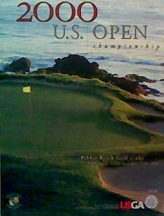 The 2000 United States Open Golf Championship Souvenir Program: Pebble Beach Golf Links