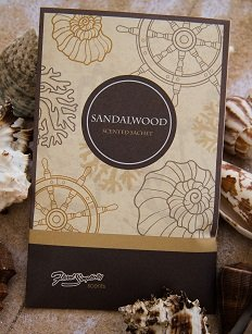 Floral Simplicity 6 Pack Sandalwood Scented Sachets